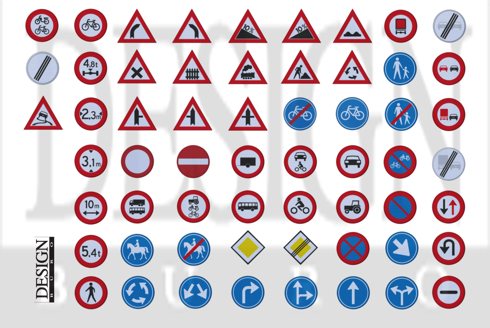HQ Traffic signs